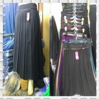 rok kerja wanita muslim bahan ferari plisket