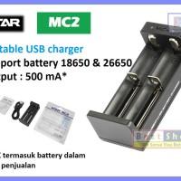 MC2 by XTAR | DUAL Slot Output 500 mA | Vape Charger