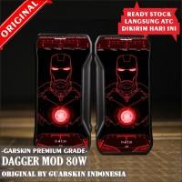 Original Garskin Skin Mod Vape Dagger - Ironman Jarvis Red