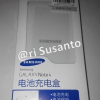 DIJUAL Desktop Charger Samsung Galaxy Note 4 N9100 (acc by samsung)