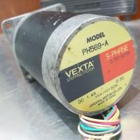 5 phase stepping motor, PH569-A, torsi 16.92 kg.cm, Vexta