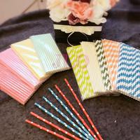 Sedotan kertas / paper straw