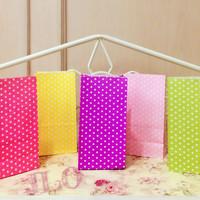 Paper bag polkadot