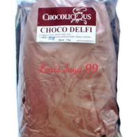 BUBUK COKLAT DELFI CHOCOLISIUS 1 kg