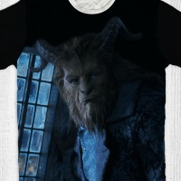 Kaos Anak & Dewasa Beauty And The Beast - The Beast
