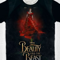 Kaos Anak & Dewasa Beauty And The Beast - Shadows