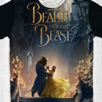 Kaos Anak & Dewasa Beauty And The Beast - Dance
