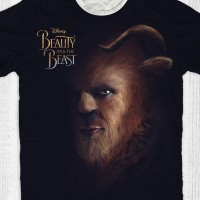 Kaos Anak & Dewasa Beauty And The Beast - The Beast Face
