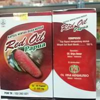 TERLARIS Kapsul RED OIL PAPUA Original@60,Minyak Buah Merah Papua