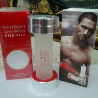 Parfum Ori Eropa Nonbox Davidoff Champion Energy Red For Men EDT 90 Ml