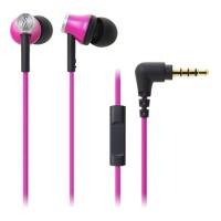 Audio-Technica ATH-CK330iS In-Ear Earphone - Merah Muda