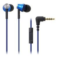 Audio-Technica ATH-CK330iS In-Ear Earphone - Biru