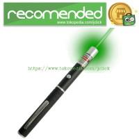 Green Point Beam Laser Pointer Pen 5MW - Black
