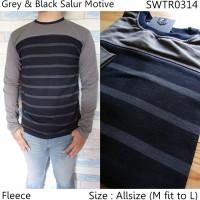 Swater Pria Distro Keren Grey   Sweater Rajut Pria   0202
