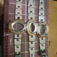 Gelang akik model jam tangan