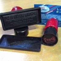 Custom Stempel - 2 Warna - Tanpa Bantalan&Bisa Refill Tinta