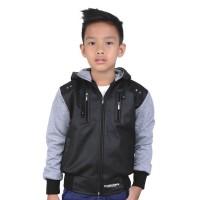 Jaket Semi Kulit Anak Laki Sweater Murah Catenzo jr CDI120