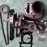 paket bore up tiger 250cc, kruk as xiema + blok piston set.