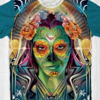 Kaos Anak & Dewasa Guardian Of The Galaxy 2 - Gamora Art