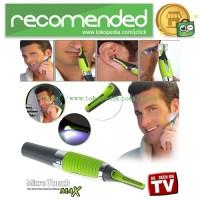 Micro Touch Magic Max Hair Groomer / Pisau Cukur - Green