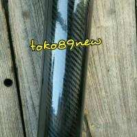 stiker/ skotlet karbon 5d hitam