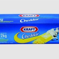 Keju Cheddar Kraft 1 kg Repack