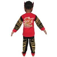 Baju Anak pahlawan Kostum Topeng Superhero Satria Garuda Bima-X