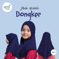 Jilbab Anak Afrakids biru donker JA017 ukuran S, M, L, atau XL - Size S
