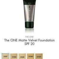 the one matte velvet foundation
