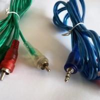 Kabel Audio 3.5mm To RCA Standar