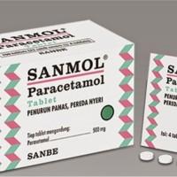 Sanmol tablet 4s Parasetamol