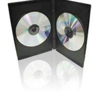 Case CD DVD Kosong GT Pro Hitam Single Double Tebal Murah Box Tas VCD