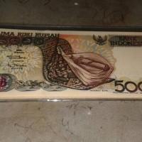 Uang Kertas Kuno Rp.5000 Sasado Rote