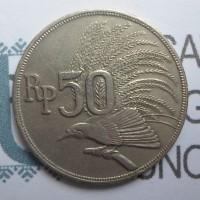 Uang Koin Kuno Rp.50 Cendrawasih