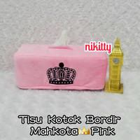 Tempat Tissue / Tisu / BoX Tisu KoTaK MaHKoTa PinK