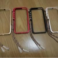 hadir Trigger Metal Bumper Case Untuk iPhone 4/4s dan 5/5s