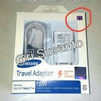hadir Charger Samsung Galaxy Note 4 Adaptive Fast Charging (Original