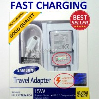 hadir FAST CHARGING Samsung Galaxy Original Charger Note 4, Note 5, S6