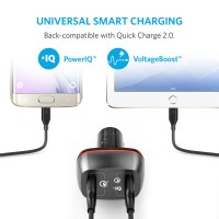 hadir Anker PowerDrive+ 2 Dual USB Car Charger with Quick Charge 3.0