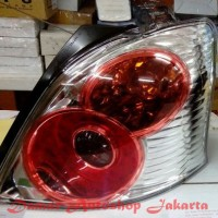 Stoplamp Toyota Yaris 2005 - 2008 & 2012 - 2014 LED Red Clear