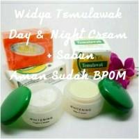 Paket Cream Temulawak Widya Day+Night+Sabun Krim Pemutih Muka BPOM