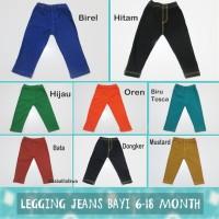 Jegging uk Baby 6-18 Month / Leging Bayi Legging Bayi Baby Pants Murah