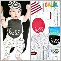 Setelan Baby BOS 1-2thn Baju Anak Murah Baju Tidur Anak All size 37000