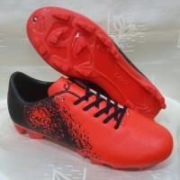 sepatu bola calci empire warna merah hitam ORIGINAL