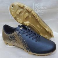 sepatu bola calci empire warna hitam gold ORIGINAL