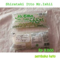 Mie Shirataki bungkus hijau