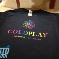 Kaos Coldplay A Head Full Of Dreams - CLD51