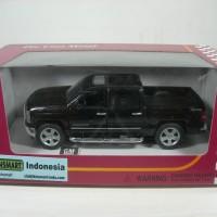 kinsmart 1:46 2014 chevrolet silverado pick up truck black