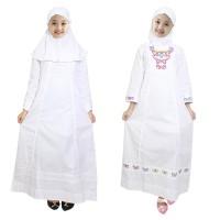 Fayrany Busana Muslim Anak Gamis Putih FGP-003 size 7 - 12