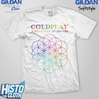 Kaos Coldplay A Head Full Of Dreams - CLD45 WH